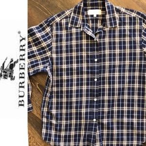 Authentic Burberry button down shirt very nice